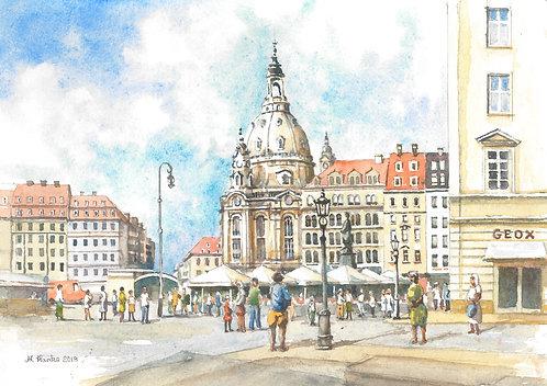 The Dresden Frauenkirche, 2018
