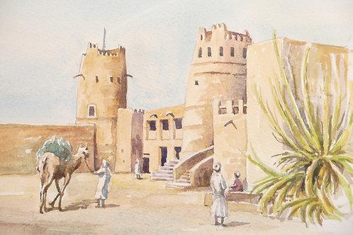 Ajman Fort, 1984