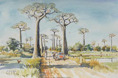 Avenue of Baobabs near Morondava, 2006