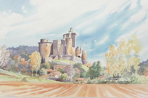 Chateau de Bonaguil, Lot Valley, 1986