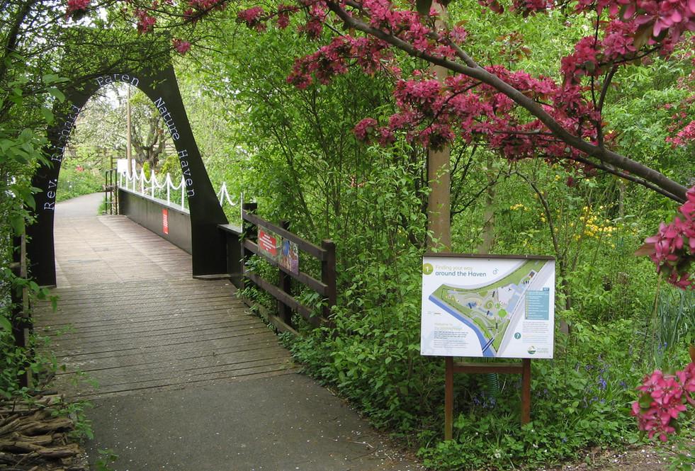 Railworld Wildlife Haven entrance 2014.J