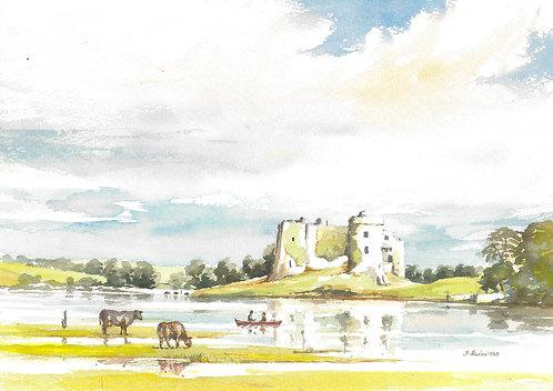 Carew Castle, Pembrokeshire,1985