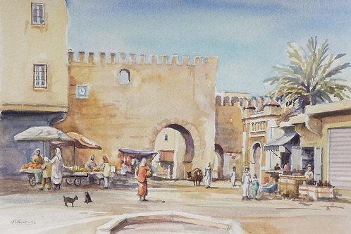 Part of the Medina walls, Meknes, 2006