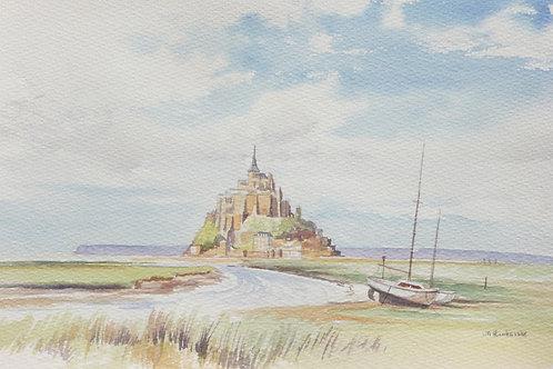 Le Mont-Saint-Michel, 1986