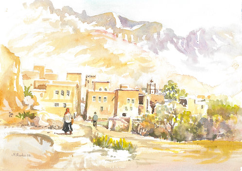 Zaouia Sidi Abdalla in the foothills of the Atlas Mountains, 2006