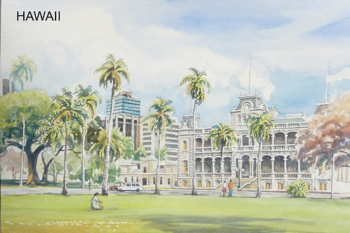 Iolani Palace, Honolulu, 1987