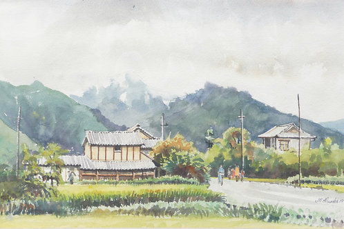 Typical country scene, 1975