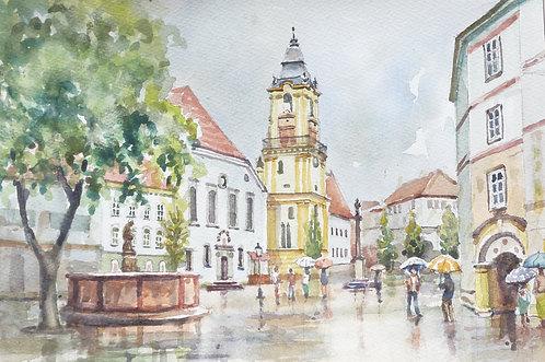 Old Town Hall, Bratislava, 1989