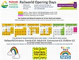 Railworld Wildlife Haven Opening Days 20