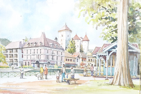 The Château d'Annecy, 2016