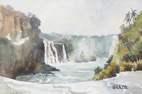 Iquazu Falls, 1971