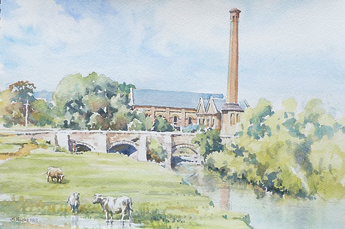 Old mill near Worcester, 2012
