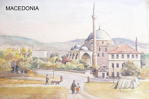 Mustafa Pasha Mosque, Skopje, 1963