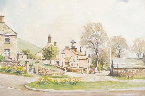 Hollinsclough Village, Peak District NP, 1997