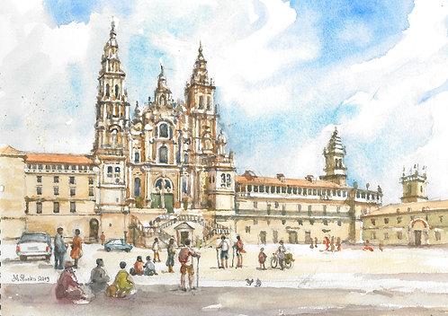 The Cathedral of Santiago de Compostela, 2019