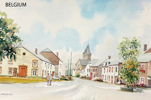 Herbeumont, south Ardennes, 1991