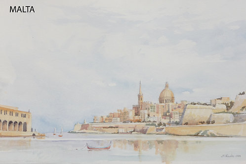 Marsamxett Harbour, Valletta, 1984