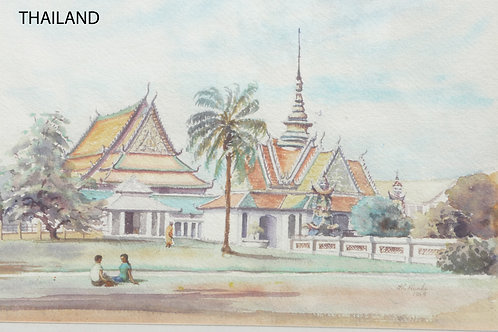 Wat Chang Temple, Bangkok, 1968