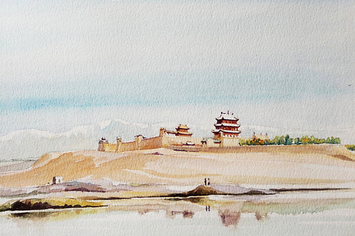 Old fort near Jiayuguan