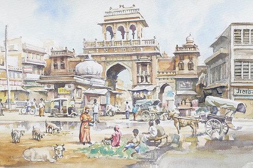 Market entrance, Jodhpur, 2009