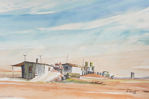 Opal mines at Cooper Pedy South Australia, 1969