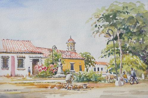 Church in Mompox, 2014