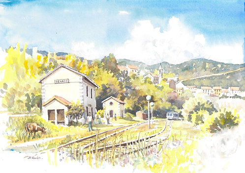 Venaco Station, upper Corsica, 2005