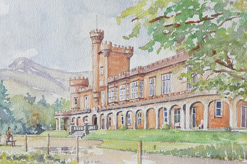 Kinloch Castle, Isle of Rum, 1996