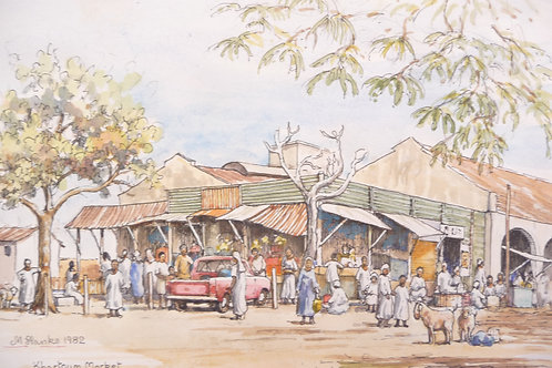 Khartoum Market, 1982