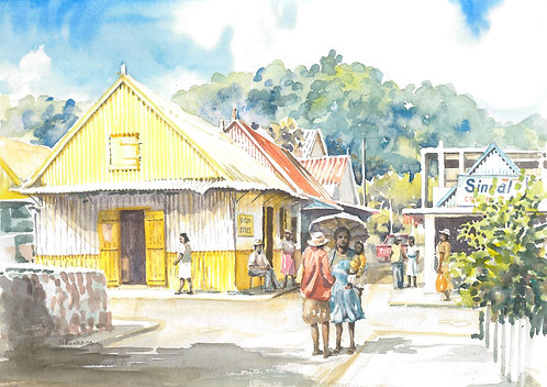 Port Mathurin Market, Rodrigues Island, 2006