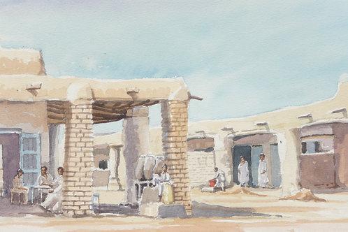 Town near Shereik, 1982