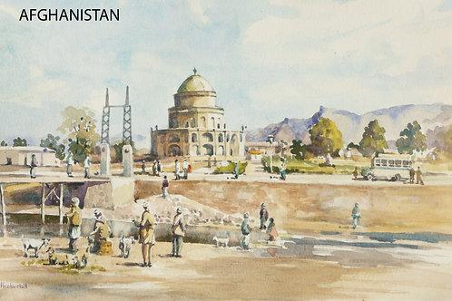 Timur Shah Mausoleum in old Kabul, 1968