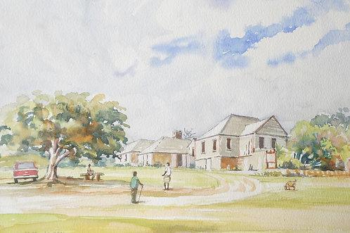 Farm scene, 2001