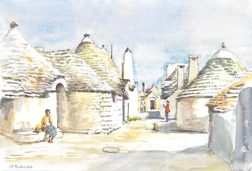 The Trulli Houses of Alberobello, 2012