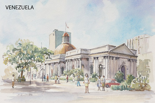 Caracas Cathedral, 1990
