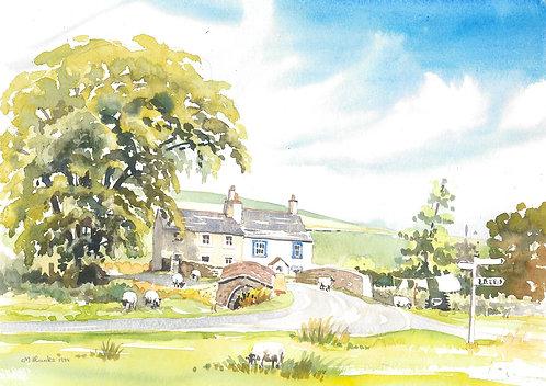 Carrock Fell, North of Keswick, 1989