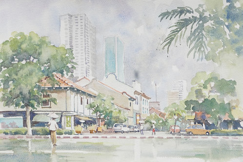 An older part of Singapore, 2008