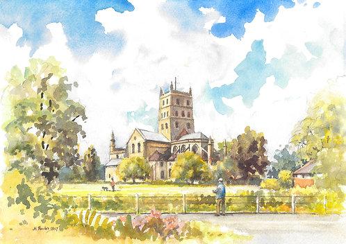The Abbey Church of St Mary the Virgin, Tewkesbury, 2017