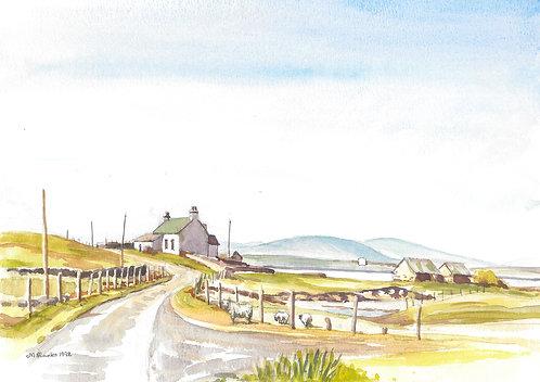 Baleshore Island, North Uist (A), 1992