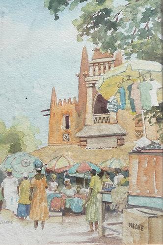 Bamako market, 1992