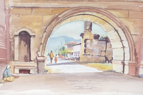 A Roman City Gate in Iznik, 1986