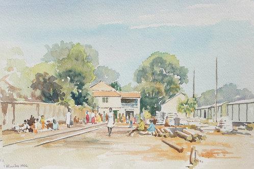 Thies Railway Station, 1992