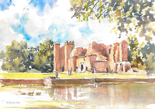 Kirby Muxloe Castle, Leicestershire, 2019