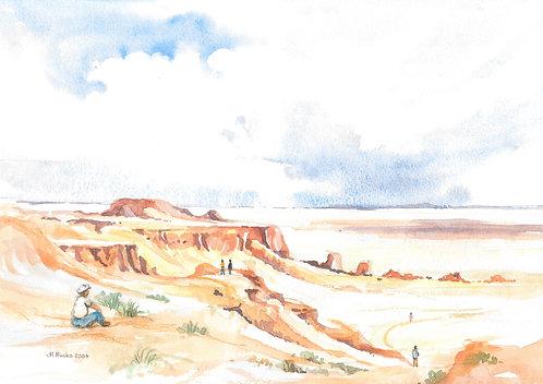Bayanzag Cliffs, 2004