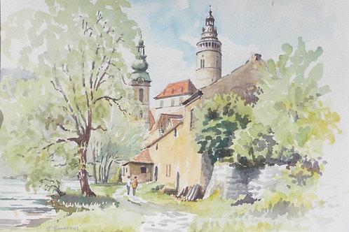 Krumlov in Bohemia, 1989