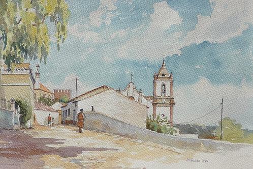 Silves in central Algarve, 1985