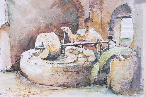 Corn Mill at Isfahan, 1968