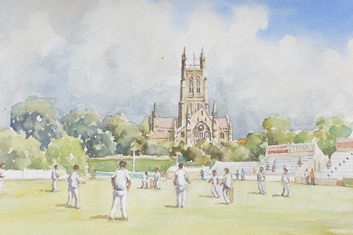 Cricket at Worcester, 2009