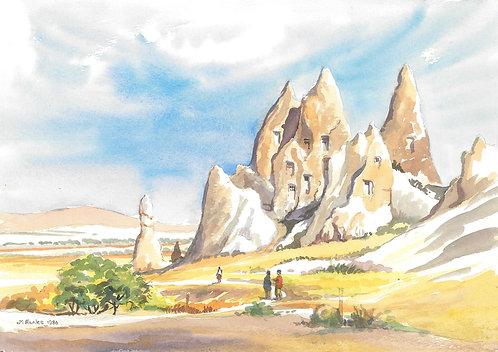 Göreme Valley, Cappadocia, 1986