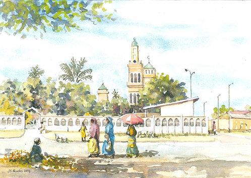 Central Mosque, Boundiali, 2019
